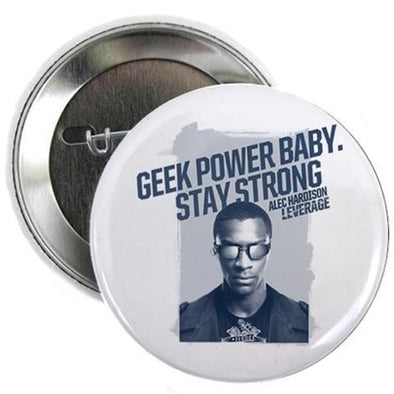 "Geek Power 2.25"" Button"