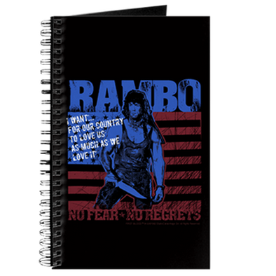 Rambo No Fear Journal