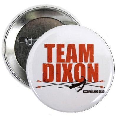 "Team Dixon 2.25"" Button"