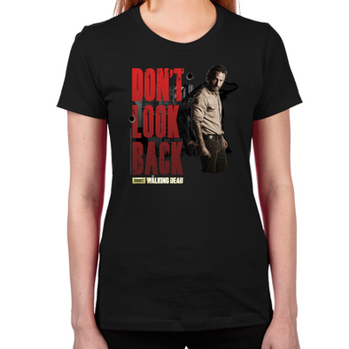 Rick Don't Look Back Women's Fitted T-Shirt