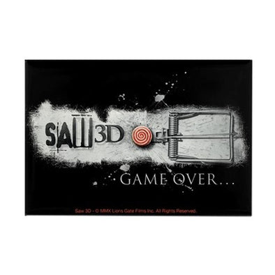 Saw Game Over Magnet