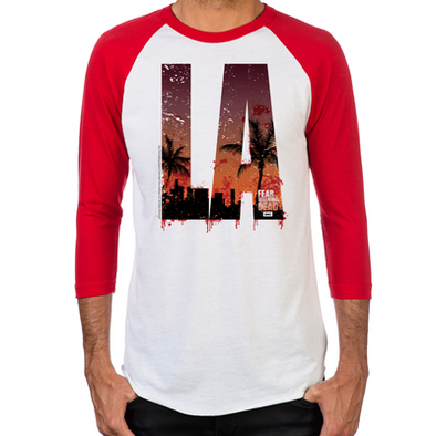 Fear the Walking Dead LA Baseball T-Shirt