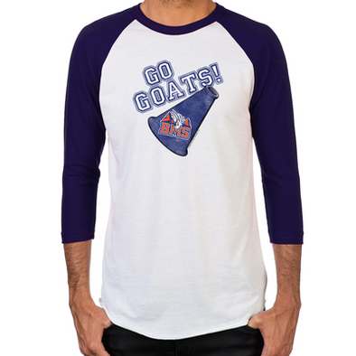 Blue Mountain State Go Goats Men's Baseball T-Shirt
