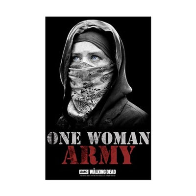 One Woman Army Mini Poster Print