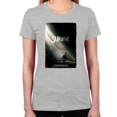 Survive Women's Fitted T-Shirt
