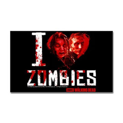 I heart Zombies Sticker