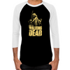 Zombie Killer Michonne Men's Baseball T-Shirt
