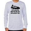 Wolf of Wall Street EARN SPEND PARTY Long Sleeve T-Shirt
