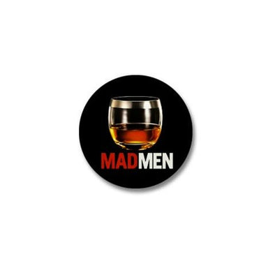 Mad Men Stiff One Mini Button