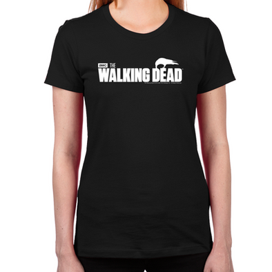 The Walking Dead Survival Women's Fitted T-Shirt
