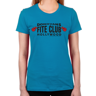 Donovan's Fite Club Women's Fitted T-Shirt