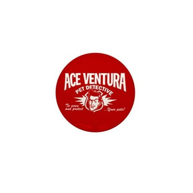 Ace Ventura Pet Detective Mini Button