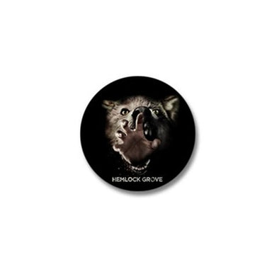 Inside Out Werewolf Mini Button