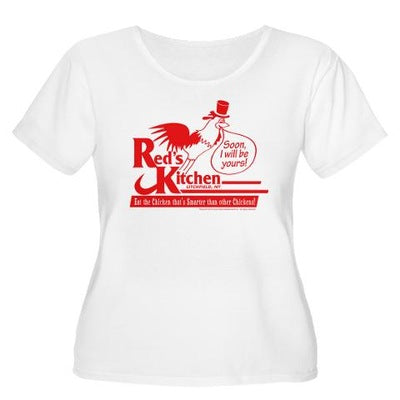 Red's Kitchen Women's Plus Size T-Shirt