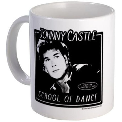 Dirty Dancing Johnny Castle School of Dance Mug