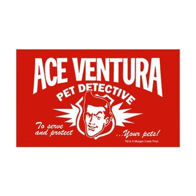 Ace Ventura Pet Detective Sticker