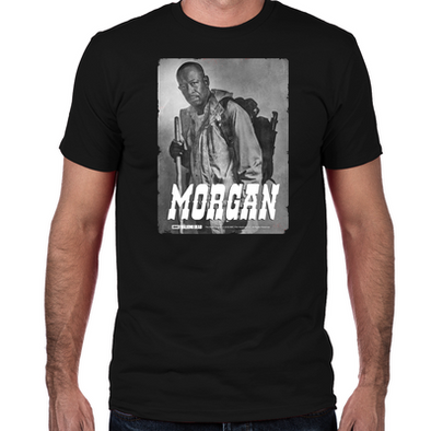 Morgan Silver Portrait Fitted T-Shirt