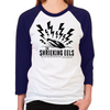 Shrieking Eels Unisex Baseball T-Shirt