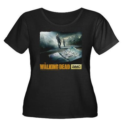 The World Needs Rick Grimes Plus Size T-Shirt