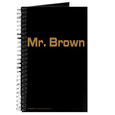 Mr. Brown Journal