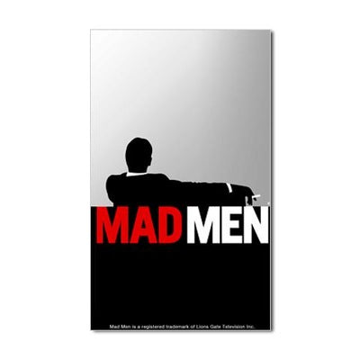 Mad Men Truth Lies Sticker