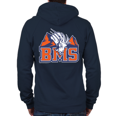 Blue Mountain State Zip Hoodie (Back Print Only)