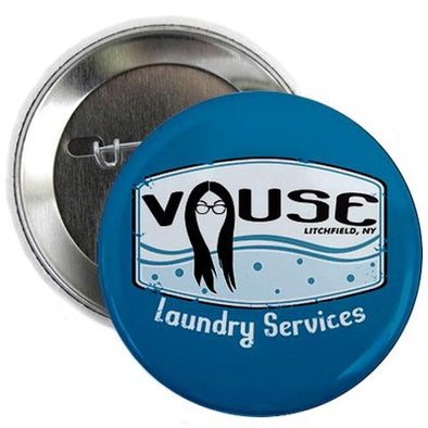 "Vause Laundry 2.25"" Button"