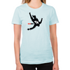 Falling Mad Men Women's Fitted T-Shirt