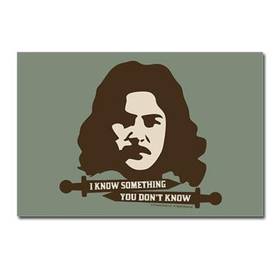 Inigo Montoya Knows Something Postcards (Package of 8)