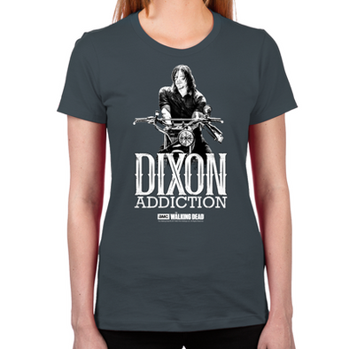 Daryl Dixon Addiction Women's Fitted T-Shirt