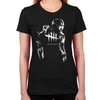 Trapper White Women's Fitted T-Shirt