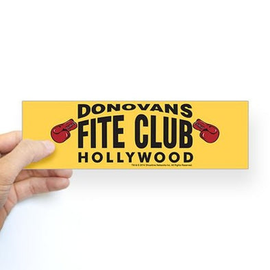 Donovan's Fite Club Bumper Sticker