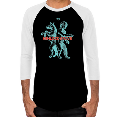 Werewolf Men's Baseball T-Shirt