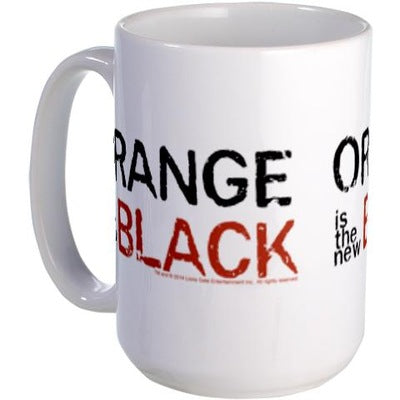 Orange is the New Black Large Mug