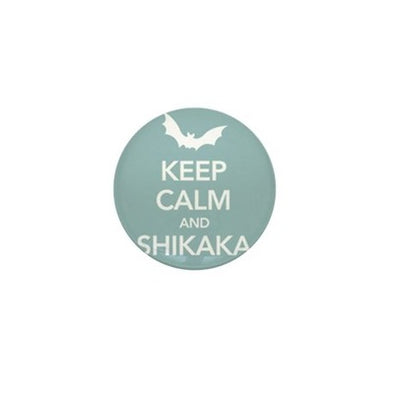 Keep Calm Shikaka Mini Button