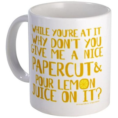 Lemon Juice Mug