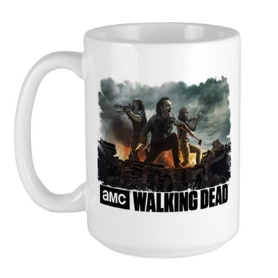 All Out War Large Mug