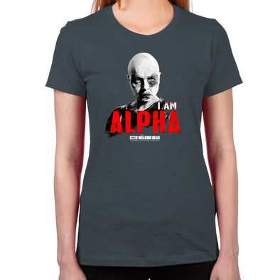 I Am Alpha Women's Fitted T-Shirt