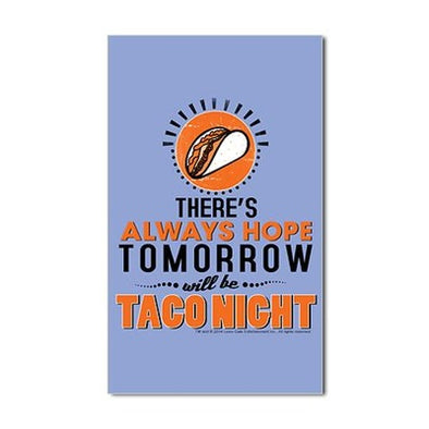 Taco Night Sticker