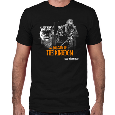 Welcome to the Kingdom Fitted T-Shirt