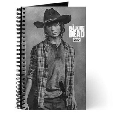 Carl Grimes Silver Portrait Journal