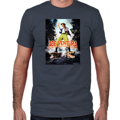 Ace Ventura When Nature Calls Fitted T-Shirt