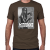 Michonne Silver Portrait Fitted T-Shirt