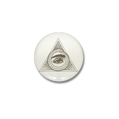 Eye Ouroboros Mini Button