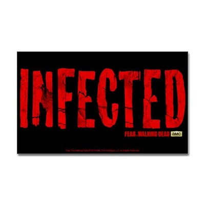 Infected Sticker