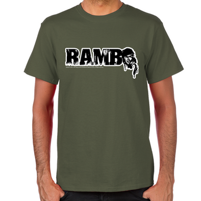 R is for Rambo T-Shirt