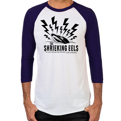 Shrieking Eels Men's Baseball T-Shirt