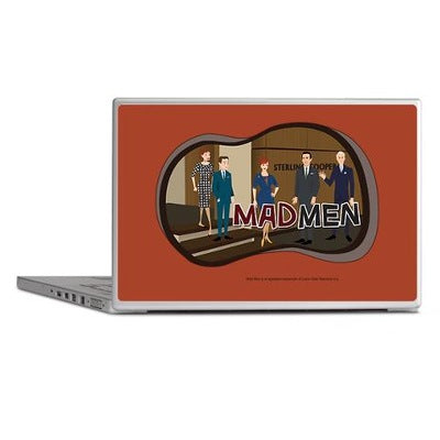 Sterling Cooper Mad Men Laptop Skin