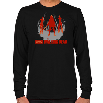 Michonne Chained Walkers Long Sleeve T-Shirt