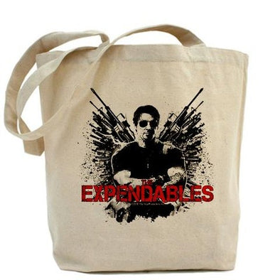 Barney Ross Expendables Tote Bag